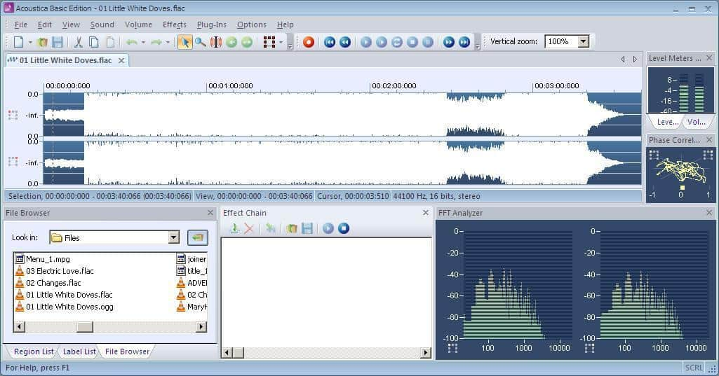 free audio editing software for windows xp