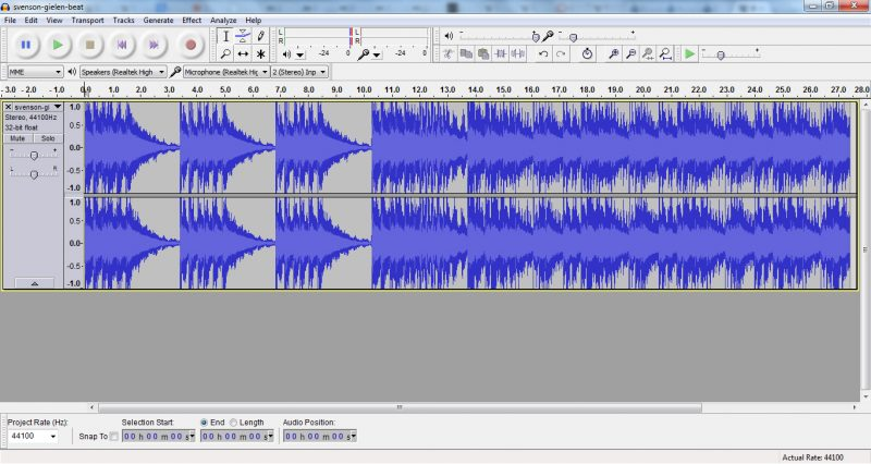 Audacity, the godfather of free audio editors