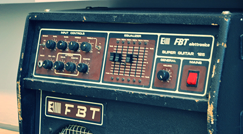 guitar amp tone knobs