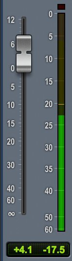 channel meter pro tools