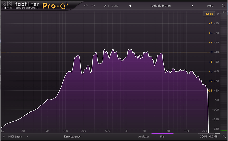 fabfilter pro-q frequency analysis