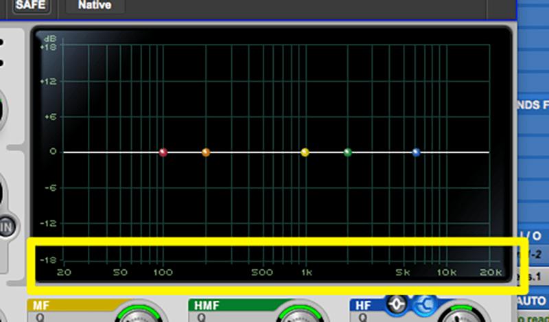 eq frequency spectrum