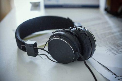 ear training with headphones