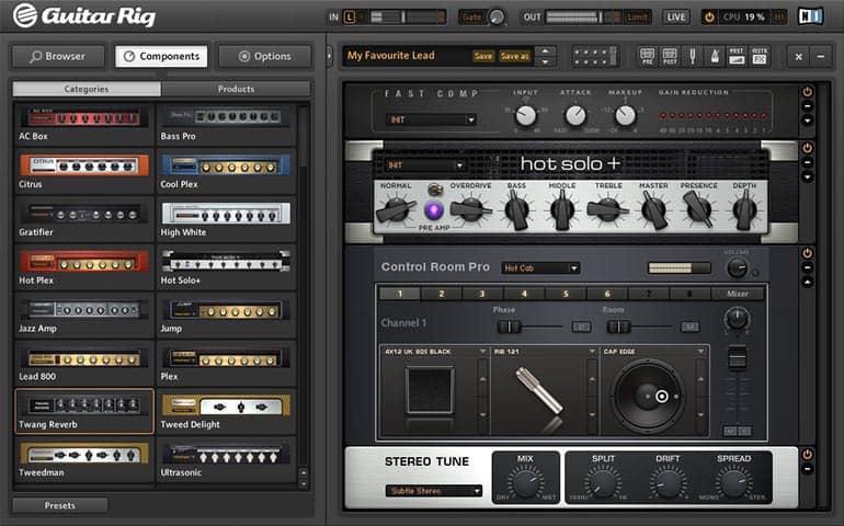 guitar rig plugin