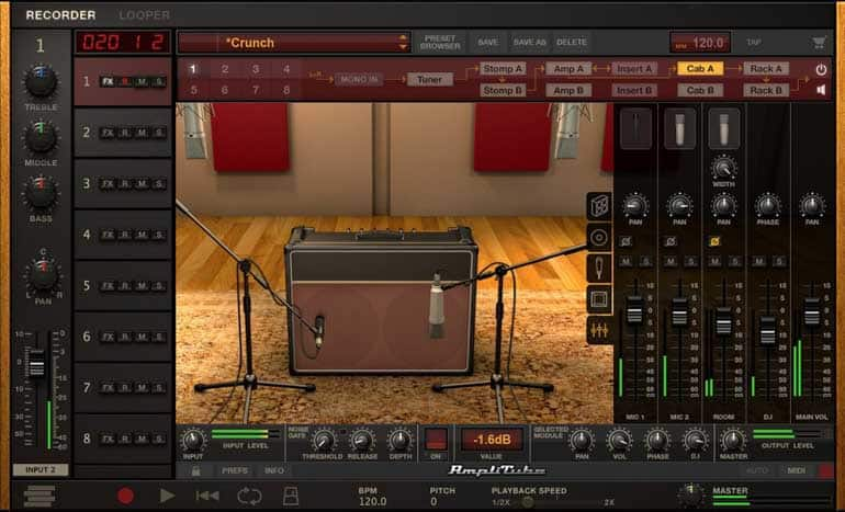 amplitube 4 amp sim