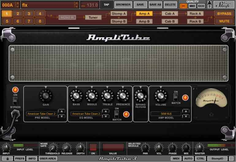 amplitube free version