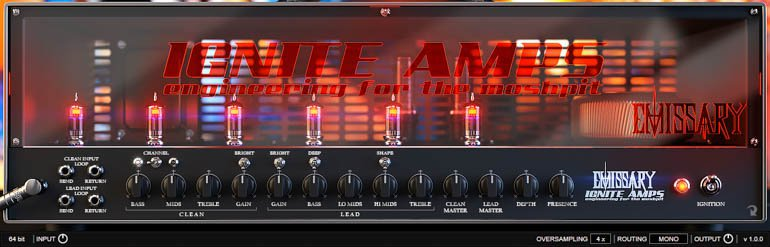 ignite amps emissary free guitar vst