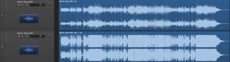unlimited waveform compared with a limited waveform