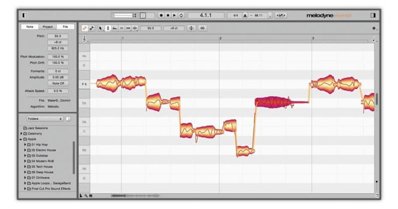 melodyne vocals