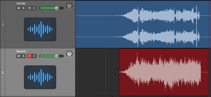 recording reverb audio