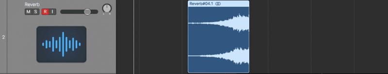 trimming reversed reverb sound
