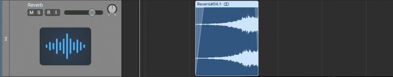adding fades to audio clip