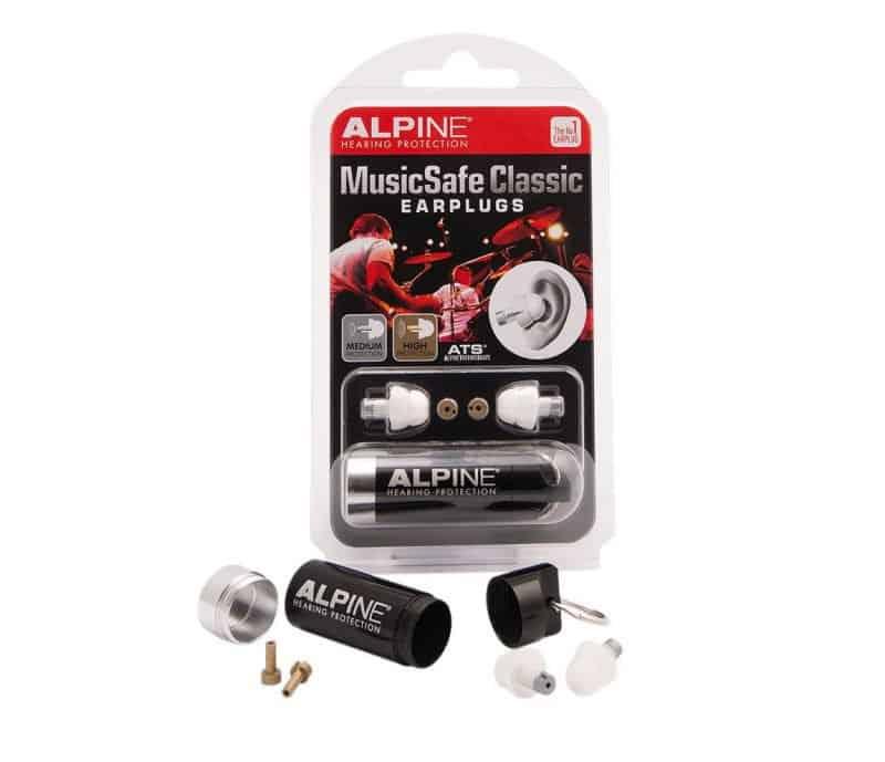 alpine classic earplugs for musicians