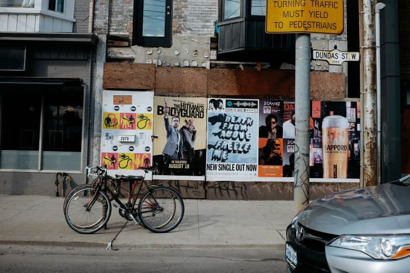 music posters and fliers