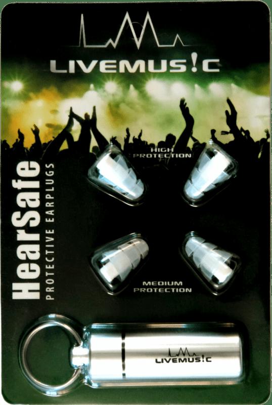 hearsafe musician's earplugs