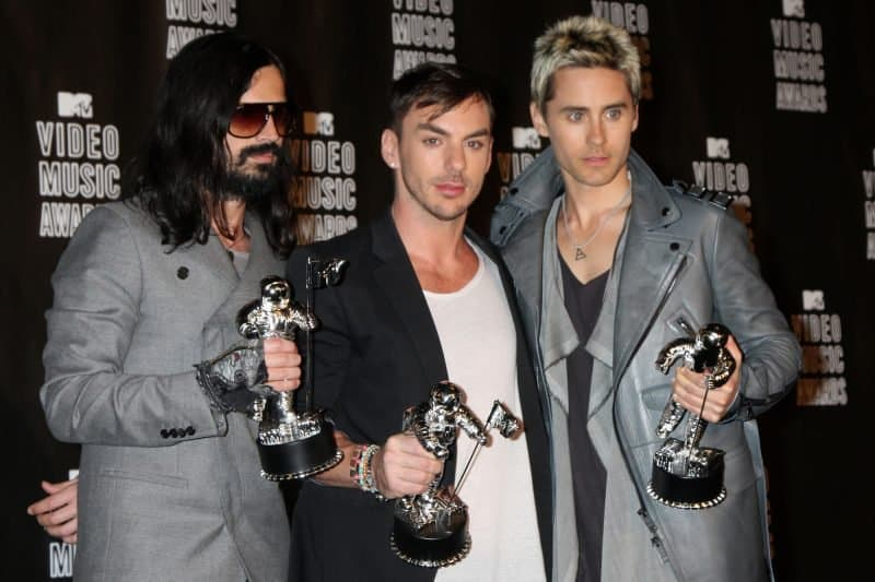30 seconds to mars at the mtv awards