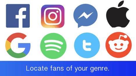 social media can help musicians find fans