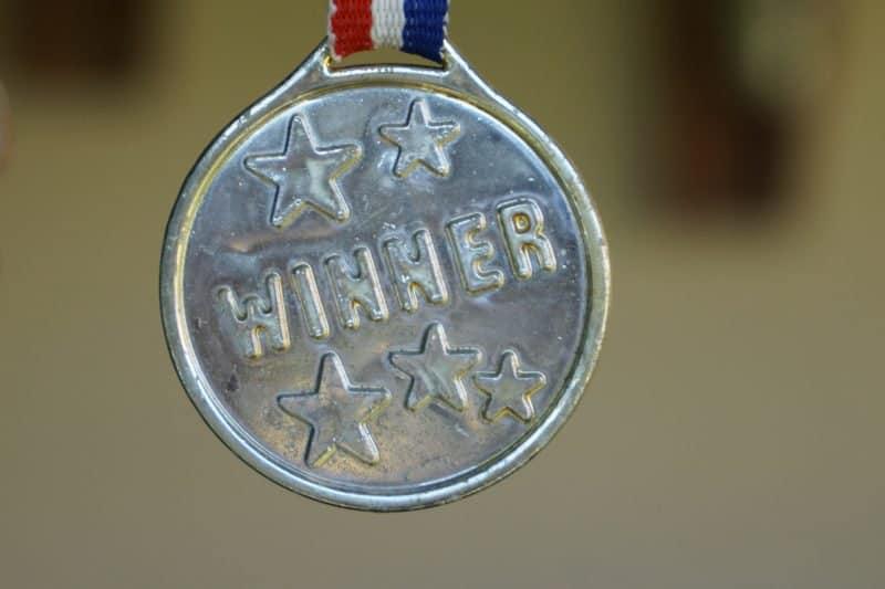 medal for winners
