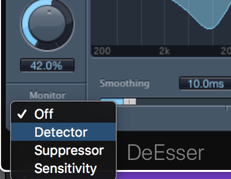 how to use the de-esser in logic pro x