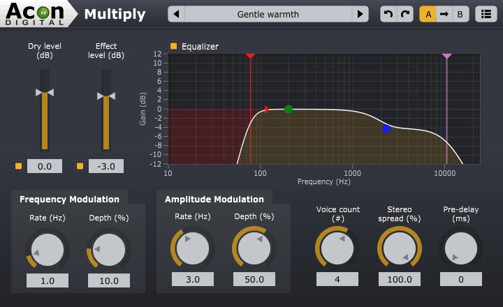 acon multiply chorus plugin