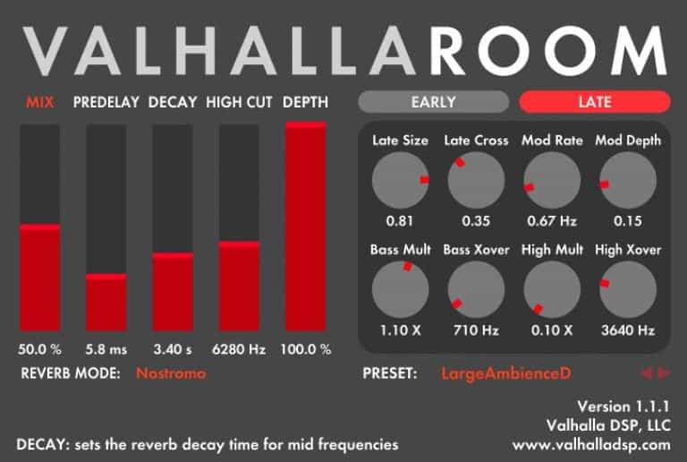 Best Vocal Plugins Valhalla Room
