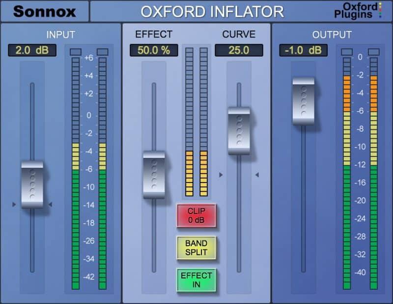 oxford inflator saturation plugin