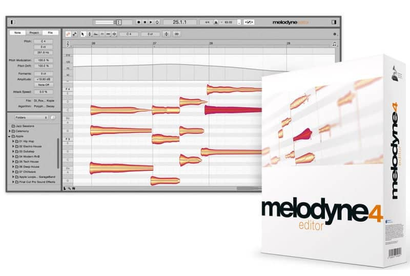 melodyne vocal pitch correction