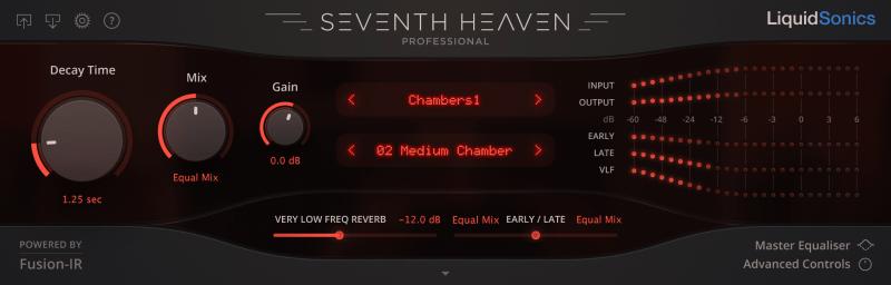 Vocal Plugin Seventh Heaven Reverb