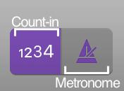 logic pro metronome