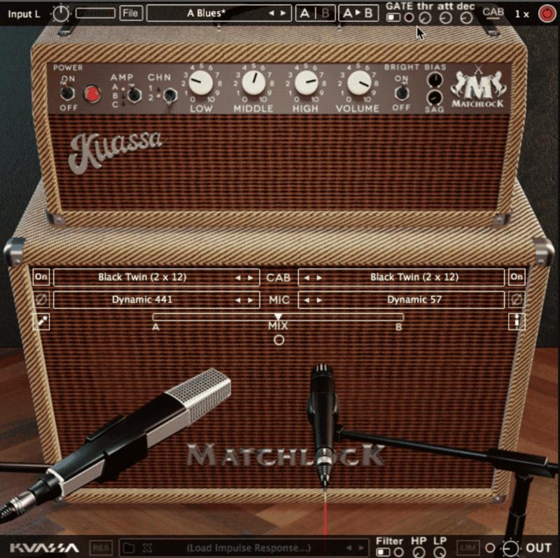 kuassa matchlock amp sim