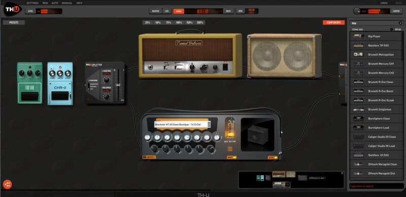 overloud thu amp simulator