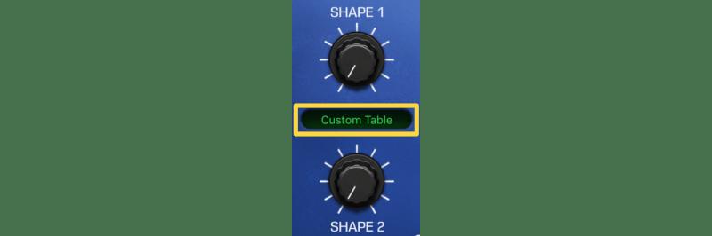 using a custom wavetable in retrosynth
