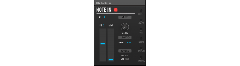 midi note in module
