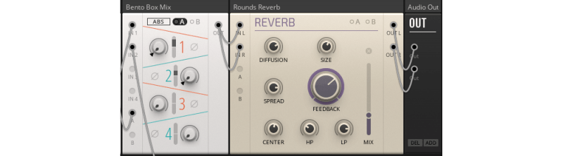 adding reverb to a synth sound