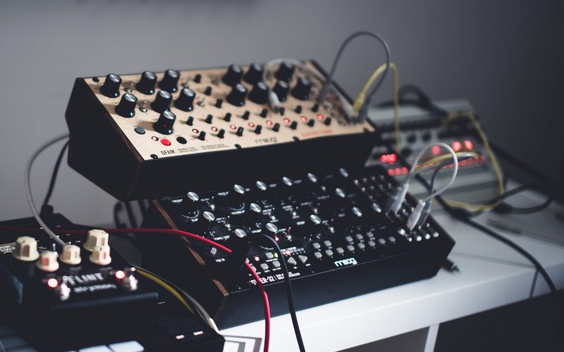 modular synth setup