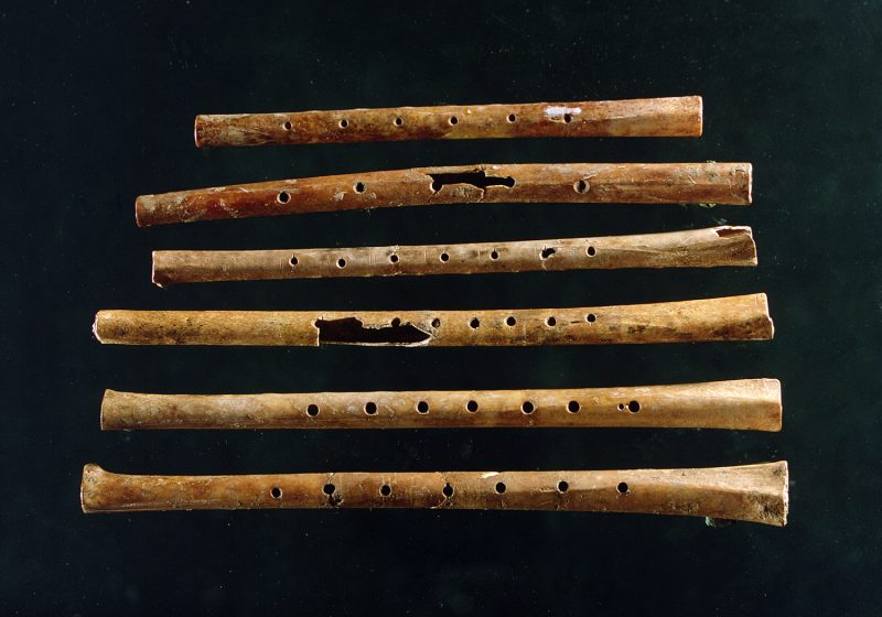 pentatonic scale flutes from ancient china