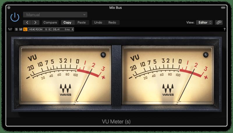 VU Meter at +2dBVU