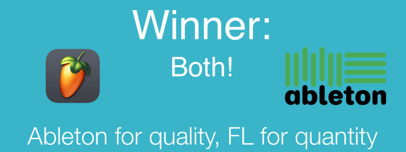 Winner: Abletone for Quality FL for Quantity