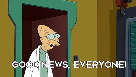 good news, everyone meme