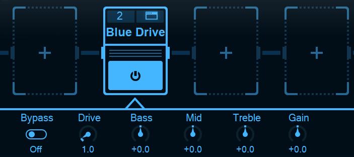 blues drive overdrive
