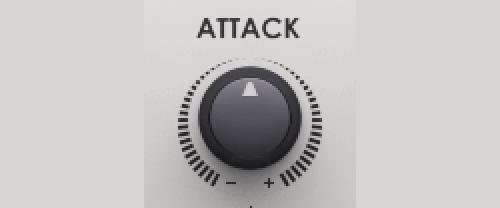 transient shaper attack