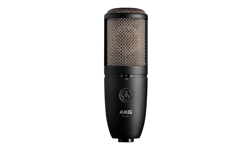 akg p420 condenser mic