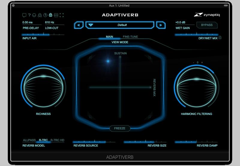 adaptiverb reverb