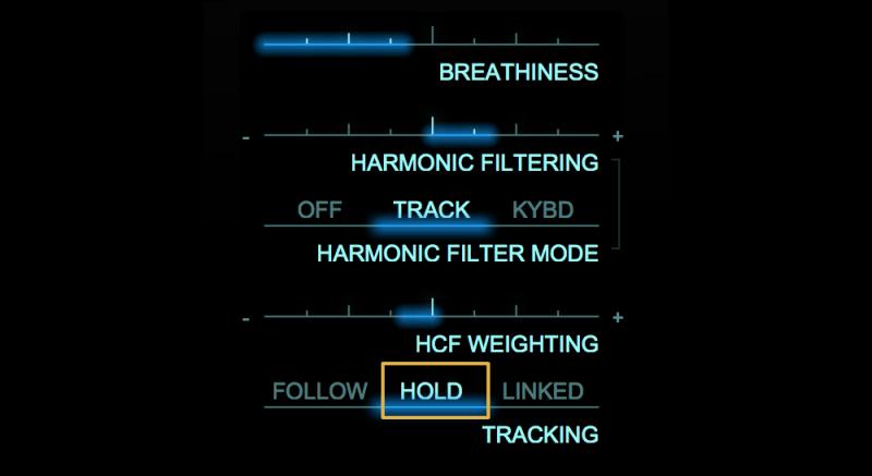 adaptiverb hold setting