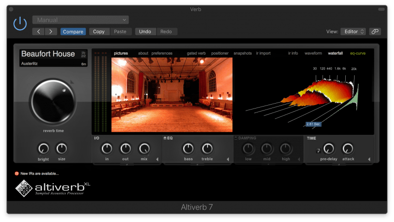 altiverb convolution reverb