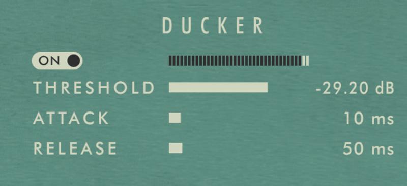 kleverb ducker setting