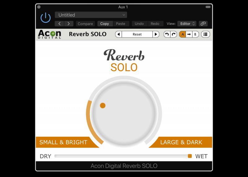 acon digital reverb solo