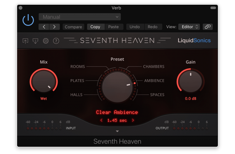 seventh heaven reverb plugin