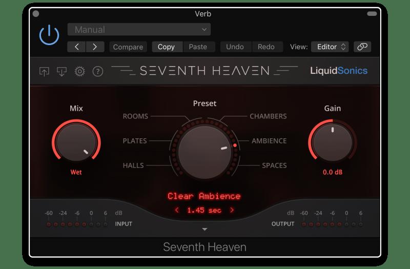 seventh heaven reverb plugin
