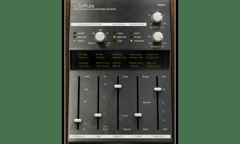 softube tsar-1 plugin
